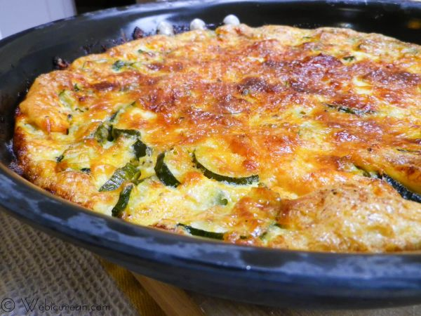 Zucchini Frittata | Webicurean