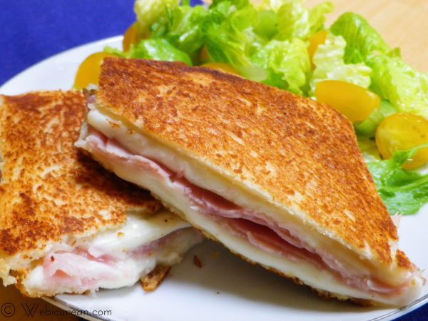 Croque Monseiur | Webicurean