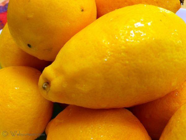 limoncello lemons