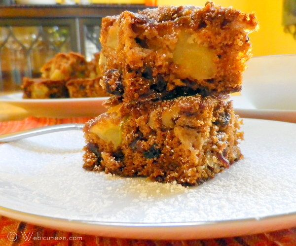 Raw Apple Cake