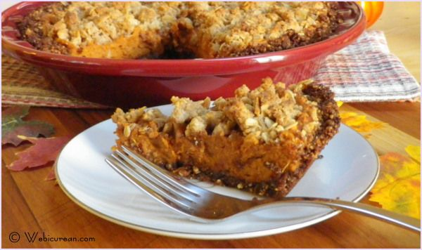 Sweet Potato Pie with Gingersnap-Pecan Crust