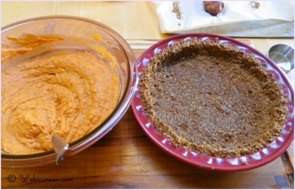 Sweet Potato Pie with Gingersnap-Pecan Crust #SundaySupper # ...