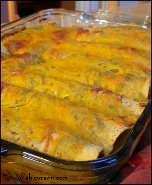 Turkey & Black Bean Enchiladas