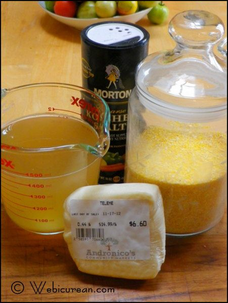 polenta ingredients