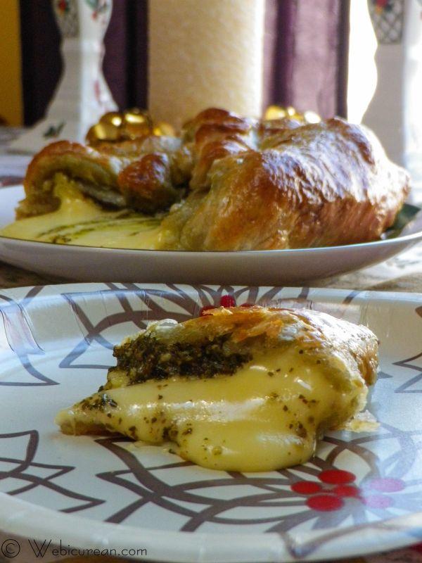 Pesto Brie en Croute