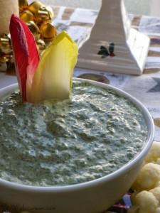 Sour Cream Dip Florentine