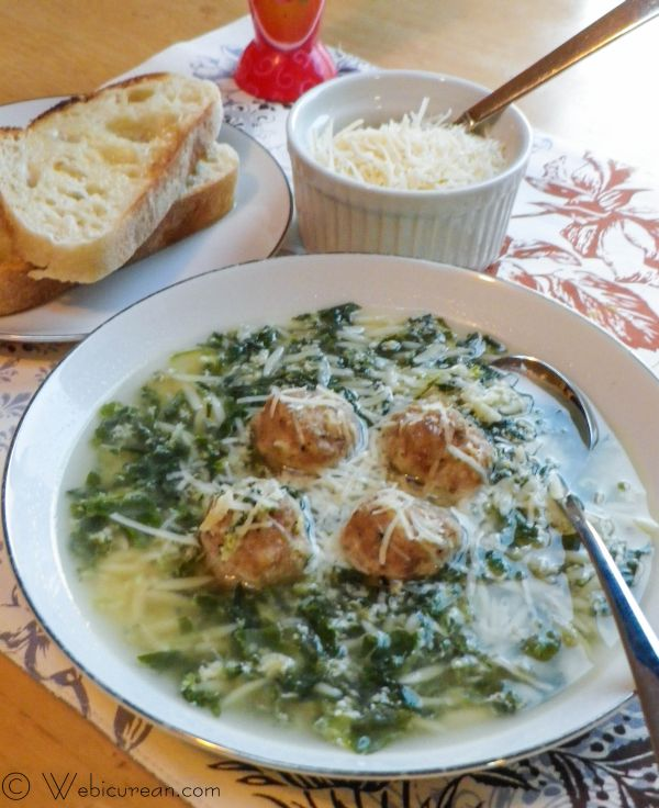 Easy Italian Wedding Soup #SundaySupper | Webicurean