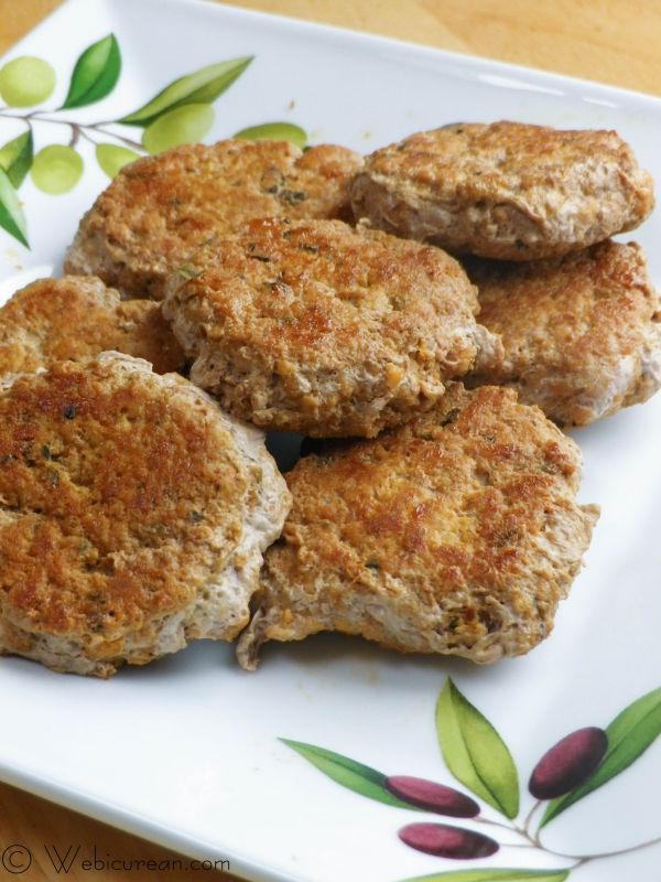 Spicy Turkey Sausage Patties