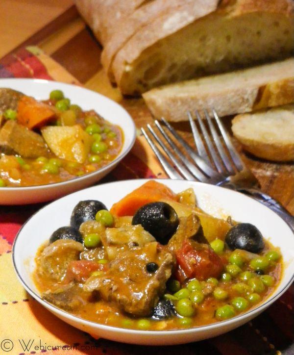 Grandma Papina's Lamb Stew | Webicurean #SundaySupper