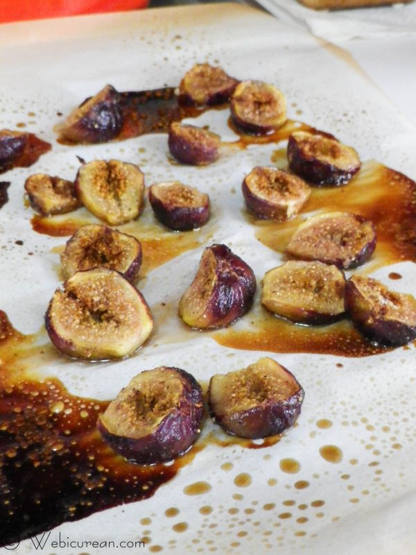 Browned Butter Cake with Honey Glazed Figs | Webicurean