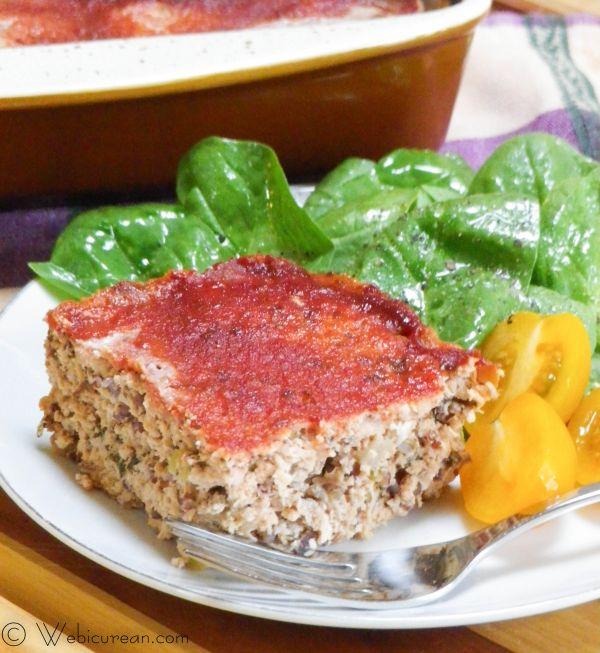 Heart Healthy Turkey Meatloaf | Webicurean