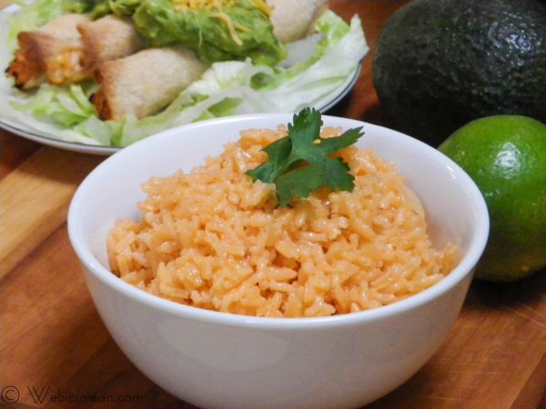 Martin's Easy Mexican Rice | Webicurean