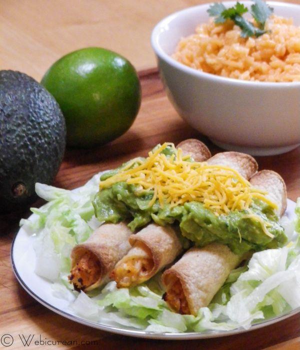 San Diego Style Rolled Tacos #SundaySupper | Webicurean