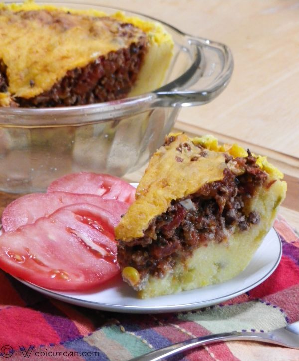Beef Tamale Pie With Cornmeal Crust Recipes — Dishmaps