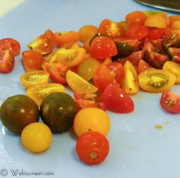 Caprese Tortellini Salad #SundaySupper | Webicurean