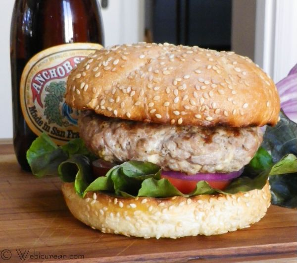 Smoky Turkey Burgers #SundaySupper | Webicurean