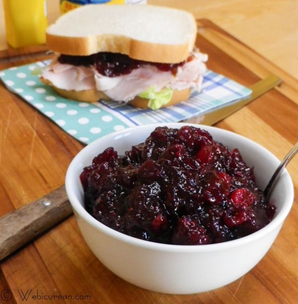 Ruby Port Cranberry Sauce #SundaySupper | Webicurean