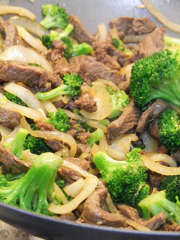 Quick and easy broccoli beef stir fry webicurean forumfinder Gallery