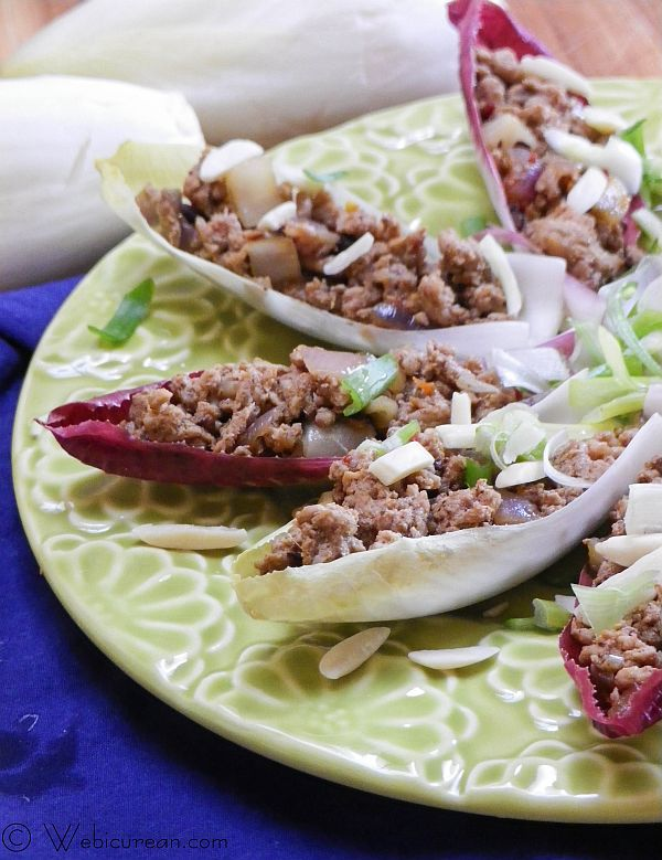 Five Spice Turkey Endive Wraps | Webicurean