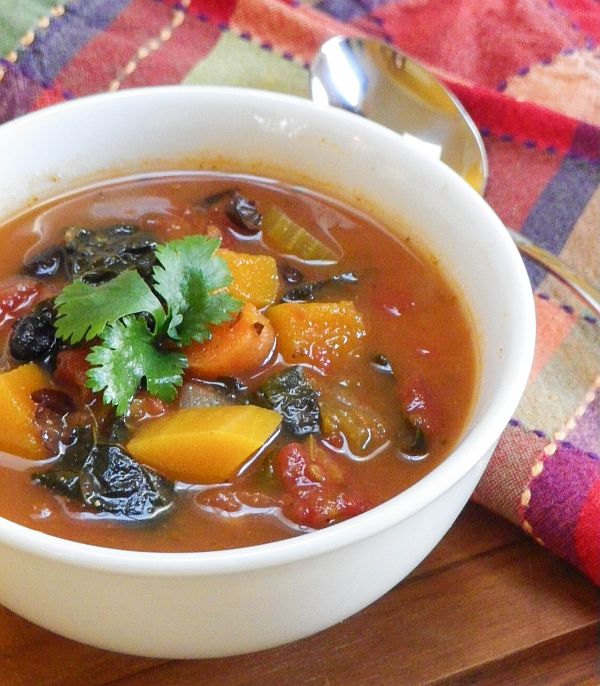 Mexican Minestrone #RED #SundaySupper