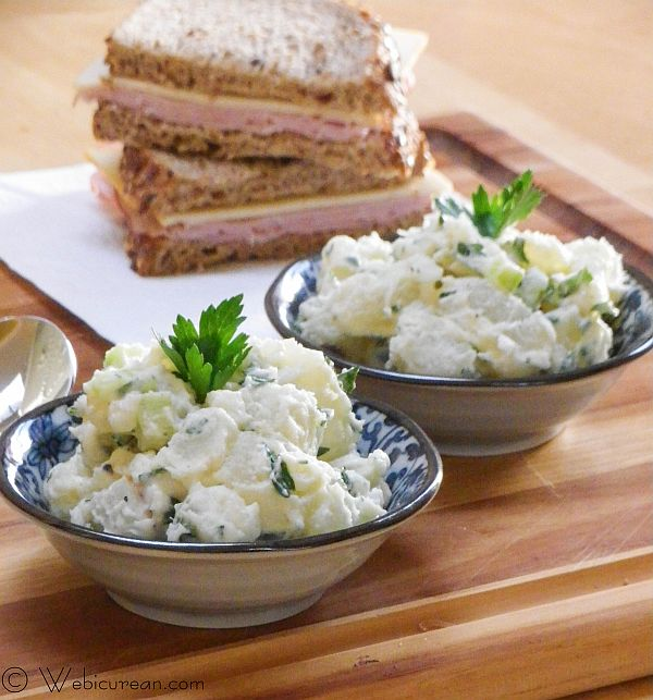 Nona's Potato Salad #SundaySupper | Webicurean